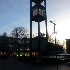 Clock Tower at Dusk, Feb 2019 | Tony Collman