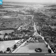 The town, Stevenage, from the north, 1946