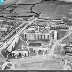 Chauncy House and environs, Stevenage, 1954