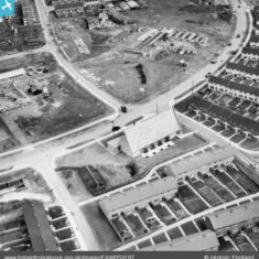 St Andrew's Church on Bedwell Crescent, Stevenage, 1954