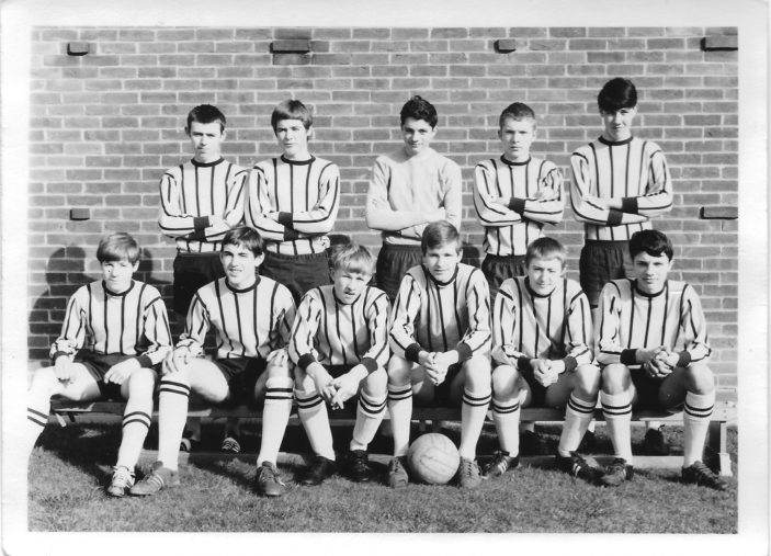 The victorious 1967/68 Collenswood football team