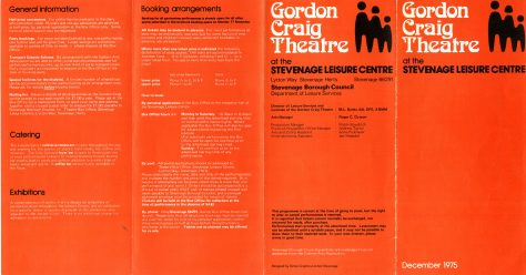 Gordon Craig Theatre Project 2019