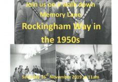 Mayor's Community History Fortnight, November 2019