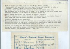 Alleyne's School Song