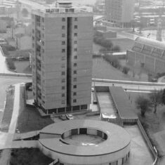 High Plash and Southgate House (now Vista Tower)