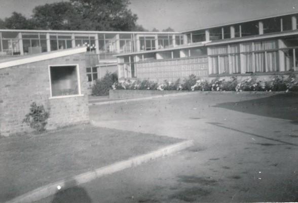 Bandley Hill JM School, Main Entrance, 1963 | Viv Cooper