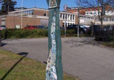 [Millennium milepost]