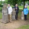 Former Town Artist visits town
