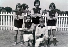 Longmeadow Junior School 5 a side Football Team 1976