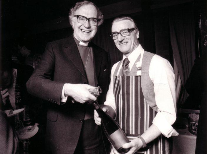 Robert Runcie meets Arthur Richards
