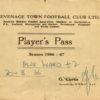 Alex Ward's Player Pass