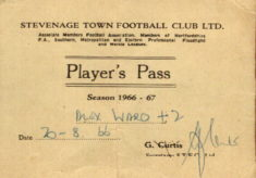 Alex Ward's Player Pass