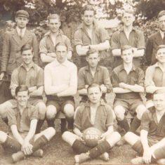 The football team in the 1931-1932 season
