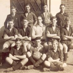 The football team in the 1932-1933 season