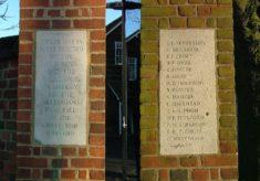 War Memorial Gates at Alleynes School