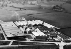 Aerial photo of the ESA factory at Stevenage