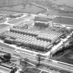 Aerial view of British Visqueen Factory | Stevenage Museum