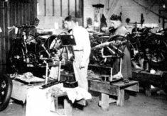 Vincent Motorbike Assembly Shop