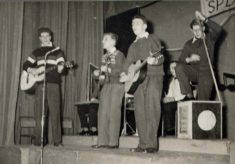The Cobras performing at Operation Splash in 1950s