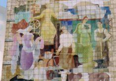 C.W.S. mural, by G. Bajio