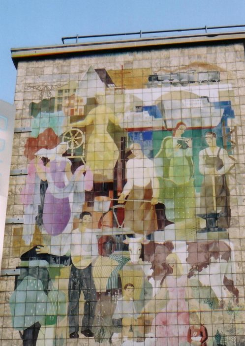 C.W.S. mural by G. Bajio