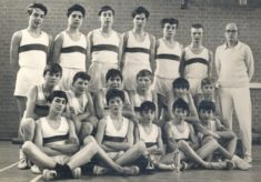 Heathcote school cross country team c1964
