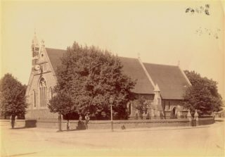 Holy Trinity Church c.1900 | Stevenage Reference Library