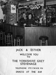 Business card for Jack & Esther Nott | Jill Campbell