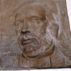 Plaque of Lister in Lister Hospital entrance hall | Pauline Maryan