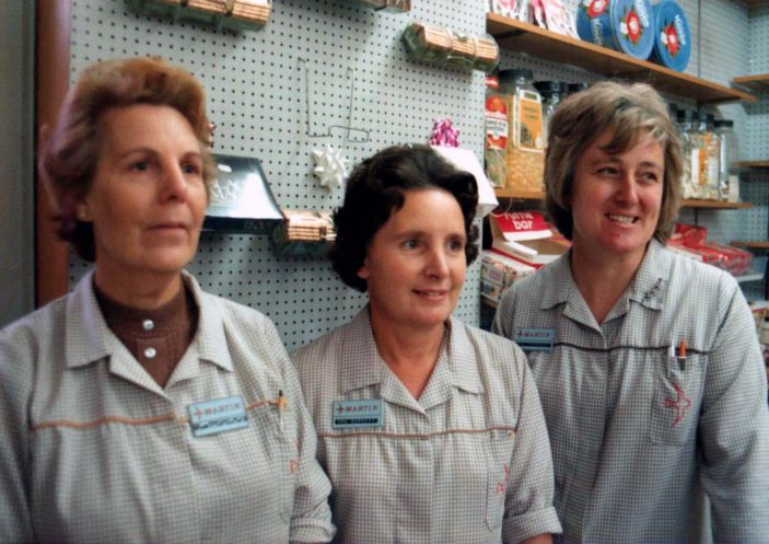 Maureen, Rose & Iris early 1980s | Jill Campbell