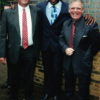 Mike and Roger Lewis with Frank Bruno