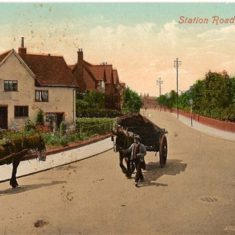 Stevenage at the turn of the 20th century