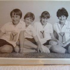 4 Y Relay team... Lisa, Liz, Janice | SGGS