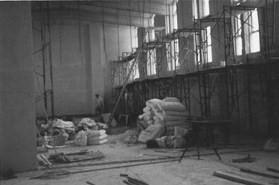 Construction work on the interior | Owen Welch