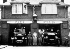 Stevenage Fire Station. c.1939