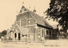Bunyan Baptist Church in 1902