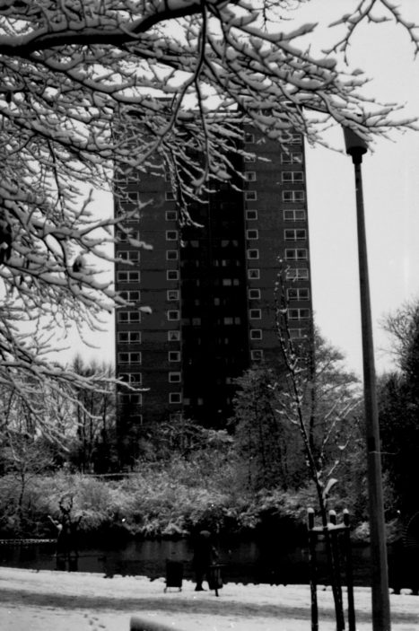 Brent Court Tower Block. December 1981 | Stevenage Museum. P1028