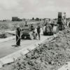 The Construction of Whomerley Road. 1951