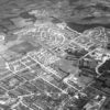Aerial view of Stevenage 1958