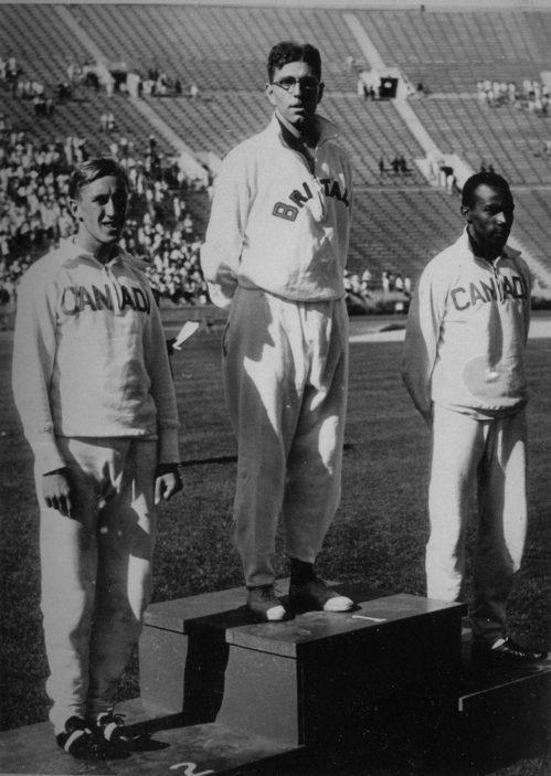 Tom Hampson at the 1932 Olympics | Stevenage Museum P13223