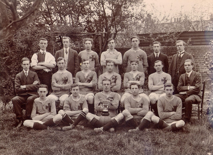 Stevenage Red Cross Football Club 1914 | Stevenage Museum P1377