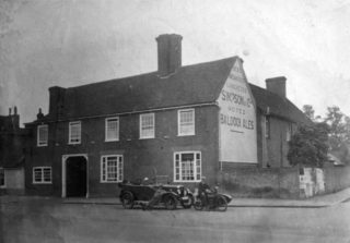 The White Lion, c. 1920 | Stevenage Museum P1803