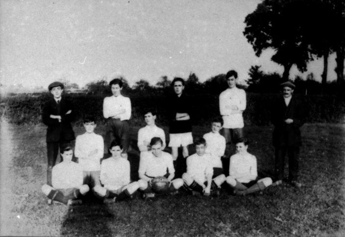 Stevenage Red Cross Football Club c.1920   Stevenage Museum P2653
