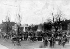 The Unveiling of the War Memorial in March 1921