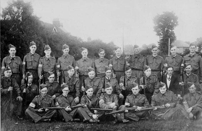 Stevenage Local Defence Volunteers. c.1940 | Stevenage Museum. P302