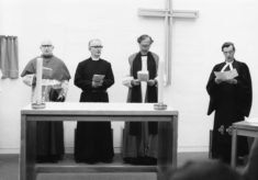 The opening of All Saints Church on 21st September 1974