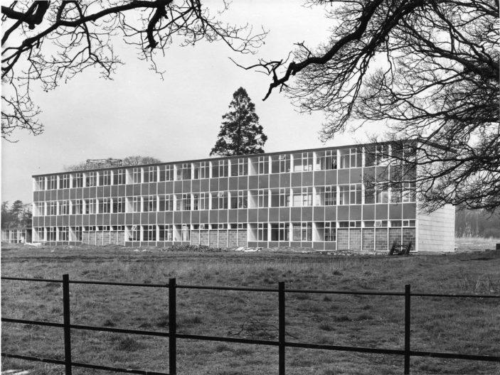 Shephalbury School exterior in 1958 | Stevenage Museum P6223