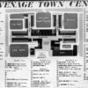 Map of Stevenage Town Centre in 1958