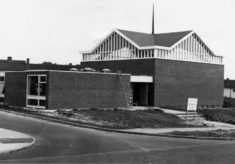 St John's Church under construction in 1964