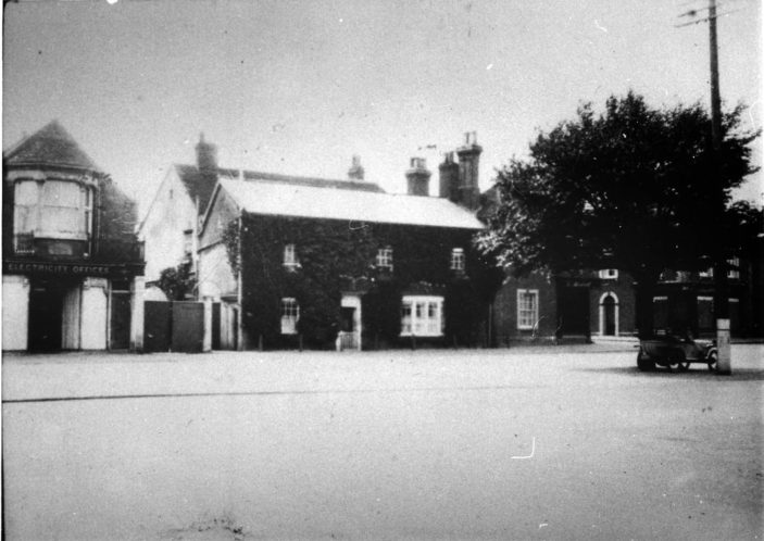 36 High Street c 1910, then home of the Stevenage Club | From the Stevenage Museum collections (P8375)